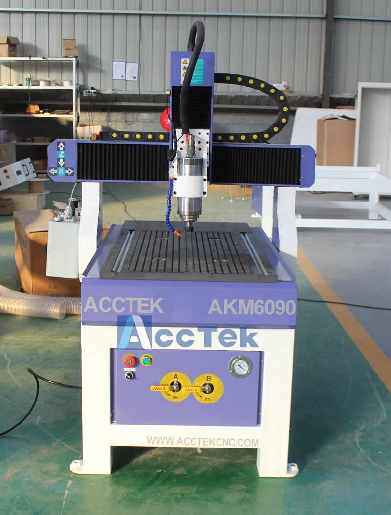 4 axis Mini CNC 6090 router metal CNC carving machine for wood aluminum