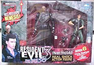 Buy Resident Evil 3 Nemesis Series 6 Chris Redfield Vs Tyrant In
