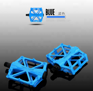 BC671 Colorful MTB Bike Cycling Fixed Gear Fixie Alloy Bicycle Pedal Folding Bike pedals Cheap Cycle Pedals