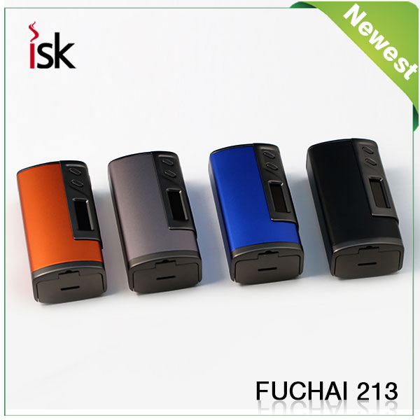 nouvelle cigarette lectronique vaporisateur tc fuchai mod 213 bo te mod vs sigelei 213 w l. Black Bedroom Furniture Sets. Home Design Ideas