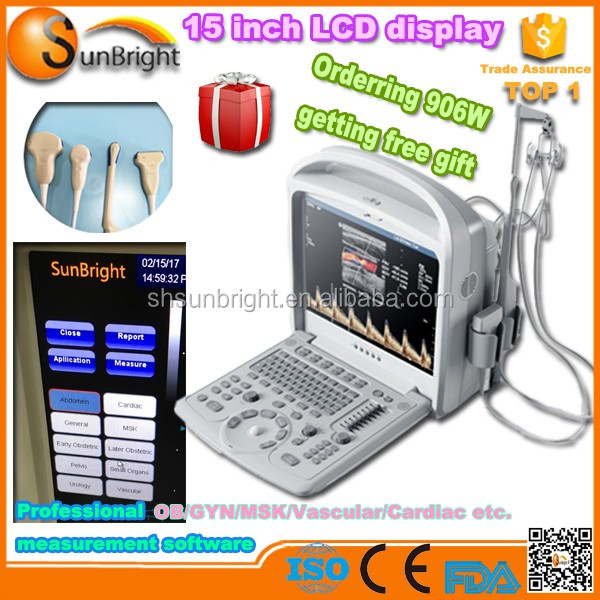 64gb Ssd Harde Schijf Draagbare Doppler Echografie Machine