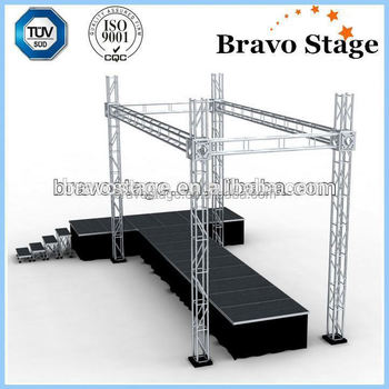 Diy Portable Stage With Folding Leg Buy Diy Portable