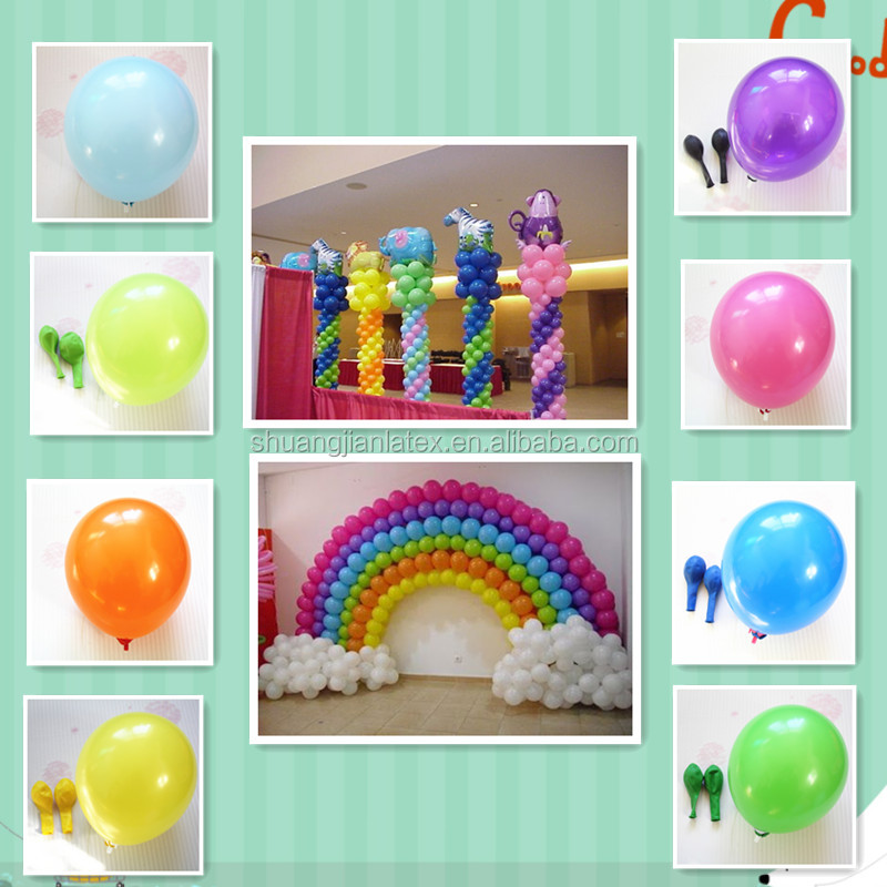 9 inch round party balloon latex Balloons
