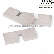 U Brazed Diamond Granite stone cutting Segments