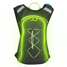 Flashing Backpack 2-Litre Hydration Pack Contact Supplier Custom Hydration Pack Cycling Running Backpack Hydration Backpack