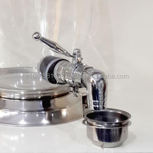 Tarros de cristal grifo dispensador de bebidas frascos de - Grifos de cristal ...