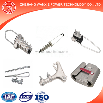 Dead End Clamp Adss Cable Tension Clamp / Steel Wire Tension Clamp ...