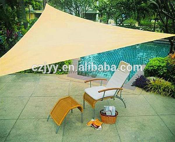 easy to install 185g/m2 waterproof shade net gazebo retractable awning sail