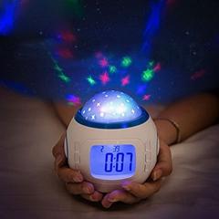Custom Cheap Temperature Sensor Office Desk  Electric Mini Table Digital Alarm Clock with AAA Battery