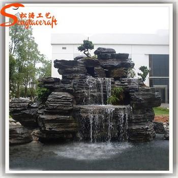 Chinesische Dekorativen Brunnen Für Heimtextilien Billige Indoor Gestaltung  Von Kleinen Mini Wasserfälle Steingarten Pumpe Pool