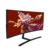 QHD 4K TV curved computer led monitor 21:9 35 inch gaming monitors with DP