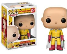 Funko POP Boneka (One Meninju, Pukulan Man Figure Saitama 257 # Model Mainan PVC Aksi <span class=keywords><strong>Angka</strong></span> Mainan