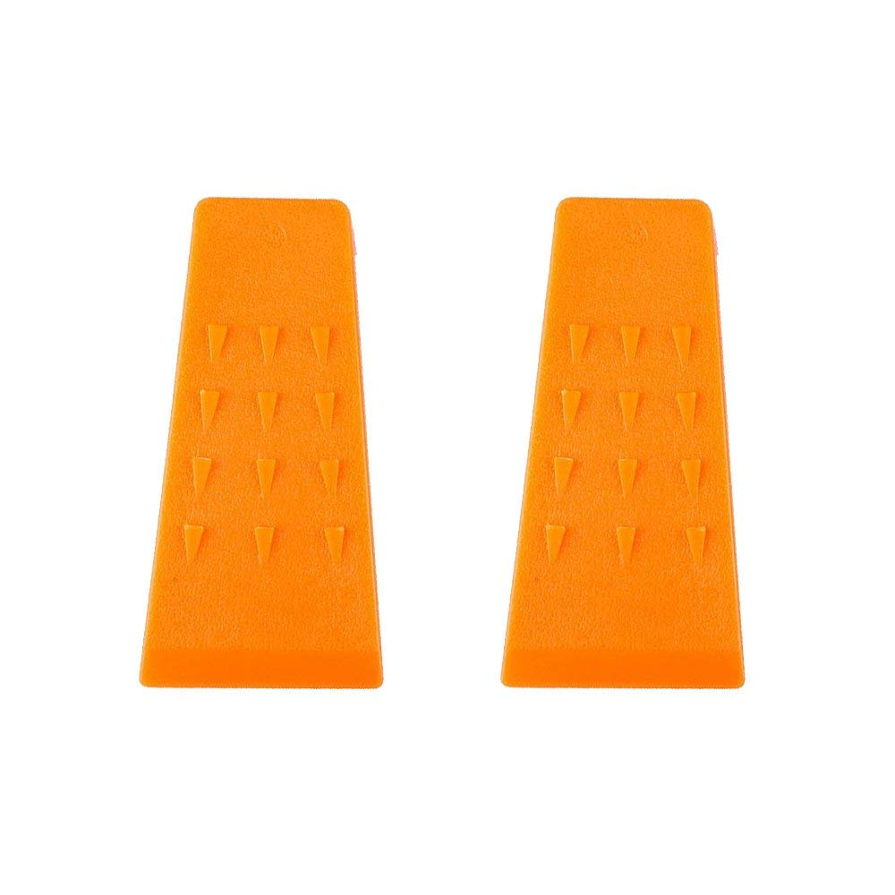 Poweka Tree Felling Wedges Set for Cainsaw - 5.5 Inches, ABS Plastic, Logging Supplies, 2 Packs