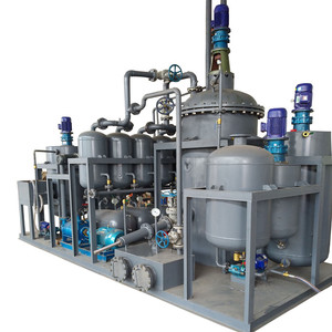 High Yield Waste Oil Treatment Yellow Base Oil Distillation Machine