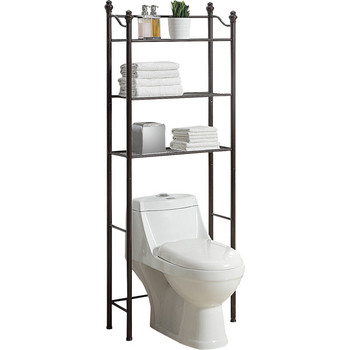Regal Stehen Über Die Toilette - Buy Bad Rack,Über Wc Lagerung,Tragbare  Badezimmer Regal Product on Alibaba.com