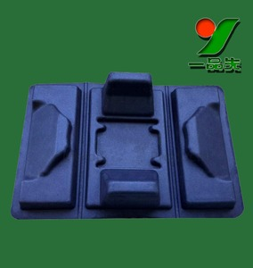 Biodegradable Hot Pressing Moulded Sugarcane Bagasse Pulp Silicone Candy Mold Sweet Chocolate Insert Tray