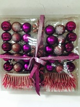 China wholesale Plastic Christmas Ornament Ball for christmas tree decoration