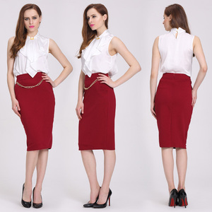 office skirt for ladies high quality cheap price slim shape skirts