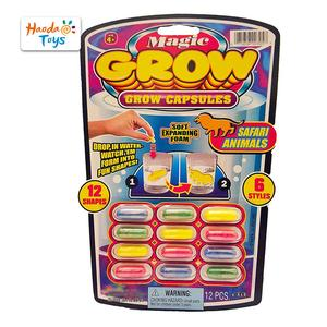 Party Favor Growing Sponge Animal Custom Magic Grow Capsule