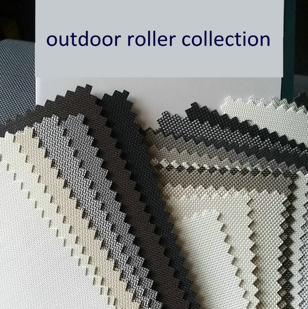 Zipper Style Side Rails Outside Roller Blind Buy Outdoor