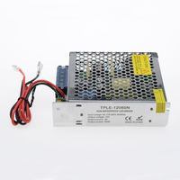 60W waterproof dc 12v 24v power supply for LED