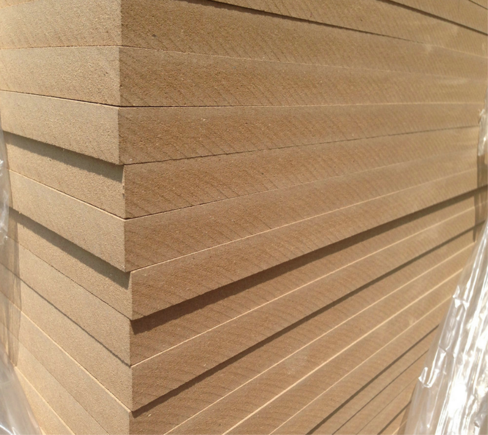 Raw MDF Wood Prices Plain MDF Board for Furniture MDF manufacturer