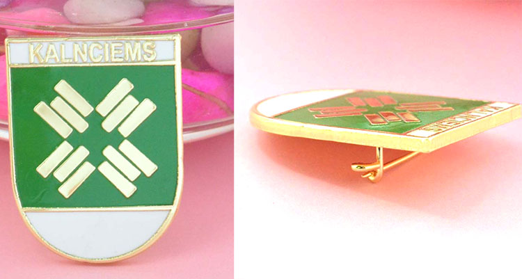 Prefetto Rosa Pin Badge per le Scuole