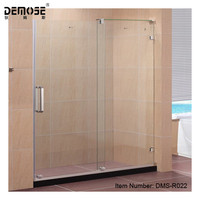 HOTEL SHOWER WITH GLASS /STAINLESS STEEL 316