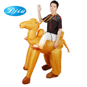 Hot product cosplay anime riding animal suit inflatable adult camel costume
