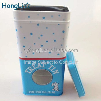 Food Safe Box Dog Food Container /pet Food Holding Metal Tin Box - Buy Food  Grade Tin Containers,Embossed Tin Containers,Tin Containers With Lids