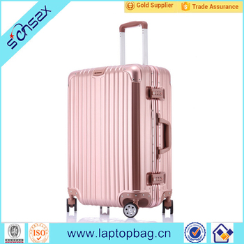 Women Department Name And Carry-on Type Long Luggage Trolley Bags ...