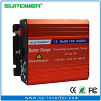 RoHS 20A 220V 120V AC input to 12V Automatic 3 stage Car Battery Charger