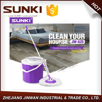 Single spin mop with lift bucket Wonder mop as seen on tv 360 rotating mopJW-A025