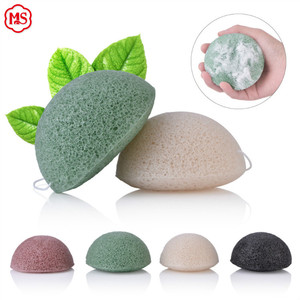 High quality Konjac makeup sponge for cleaning face