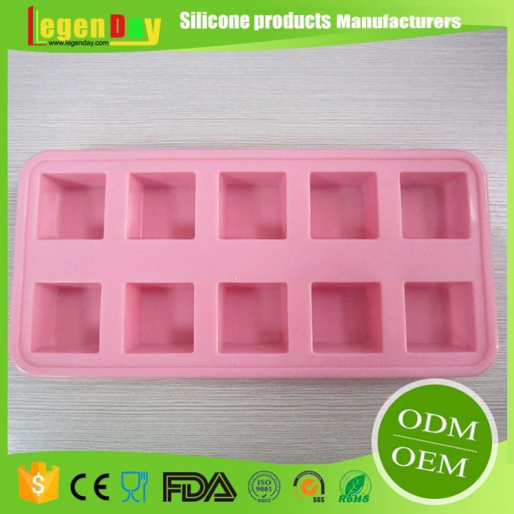 2017 Newest custom silicone ice cube tray with FDA&LFGB certification