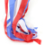 Small cute garden decor 4th of july fabric wind sock