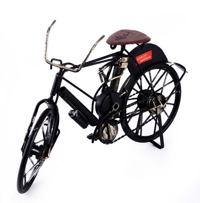 Fabrikverkauf benutzerdefinierte schmiedeeisernen fahrrad dekoration metall kunsthandwerke - Dekoration fahrrad ...