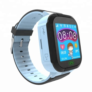 Hot selling cheap price kids and children gsm gps tracker led big touch screen hand phone smart watch