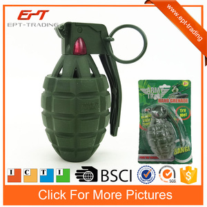 Kids weapon toys army hand grenade toy with light&sound