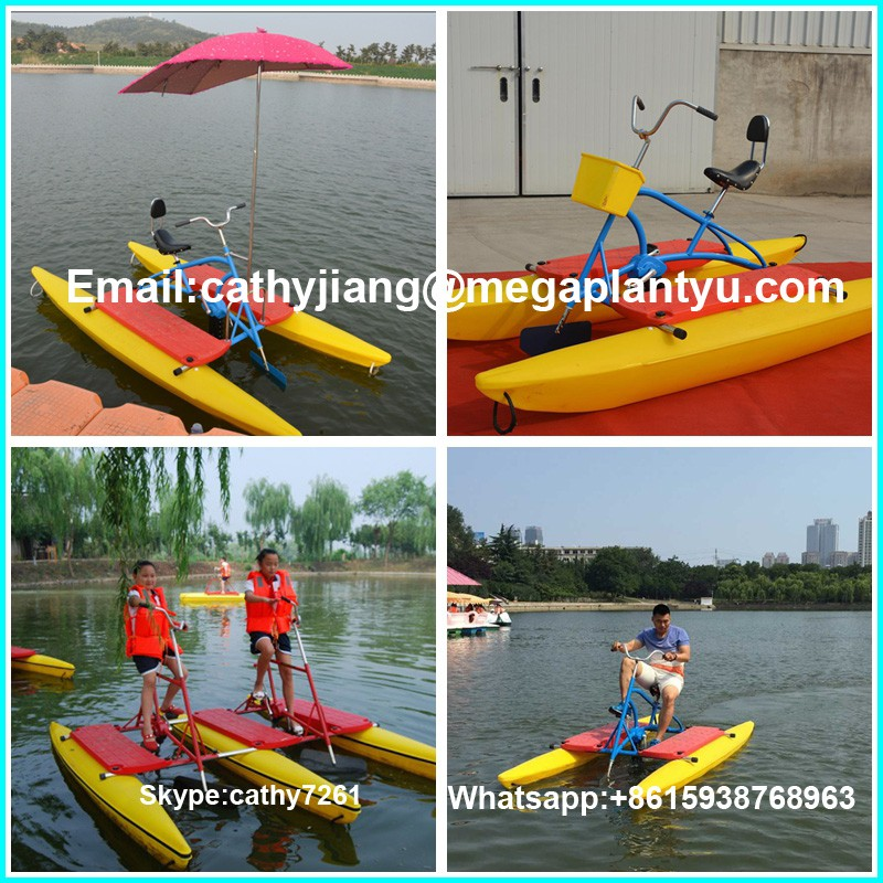 Alibaba Trade Assurance Factory Price Water Used Bike Pedal Boats ...