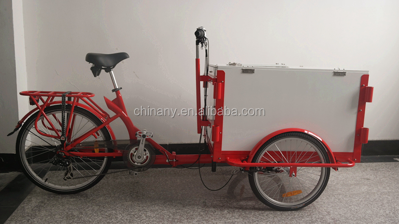 Bike Food Cart Tricycle Ice Cream Cart Cargo Bike Cargo Tricycle