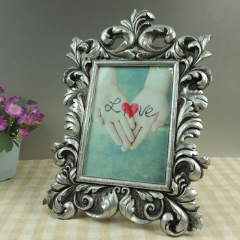 Wholesale Silver 5x7 Baroque Leaf Picture Frames Bulk - Buy ...
