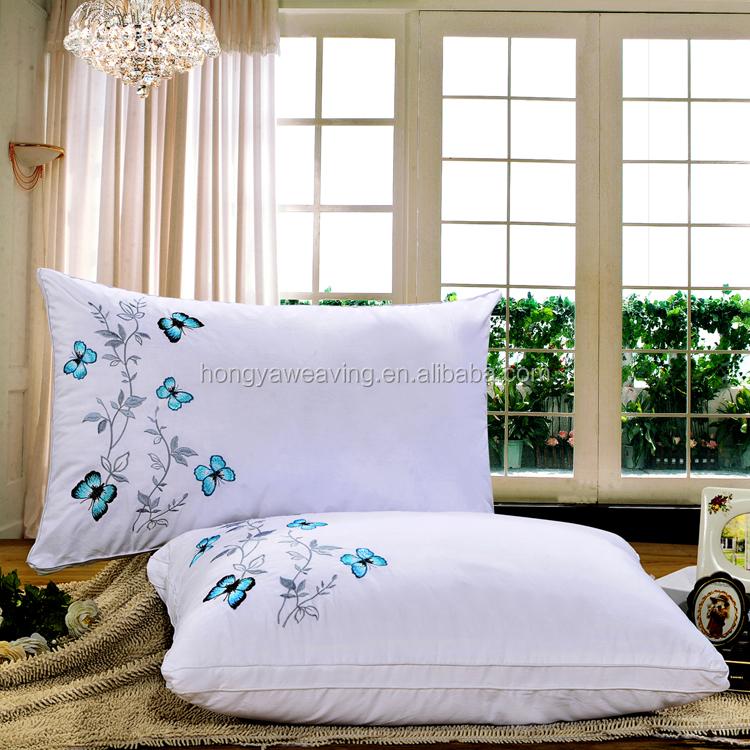 Groothandel Goedkope Wit Polyester Microfiber Vullen Hotel/Ziekenhuis Kussen