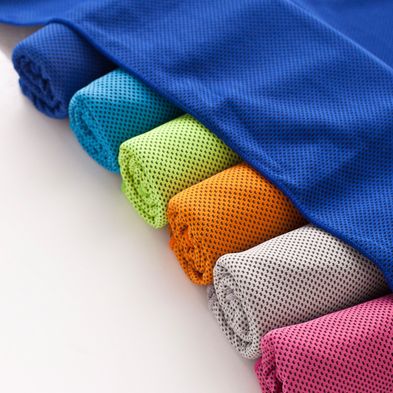 Wholesale Custom Microfiber Absorbent and Quick-dry Sport Cooling Yoga Towel