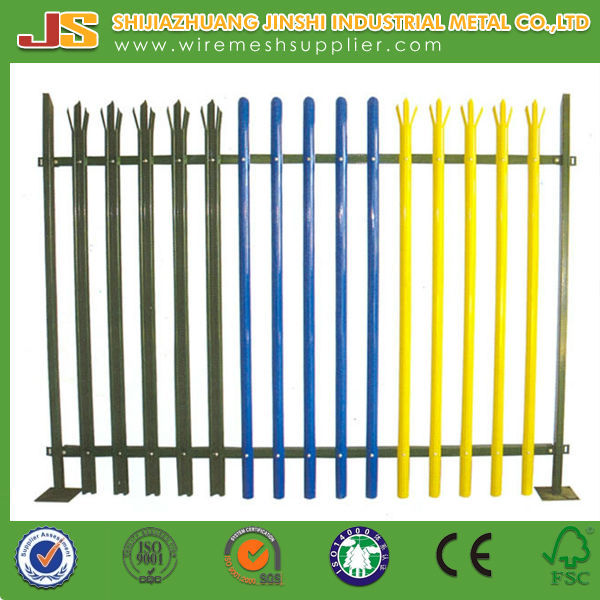 d section decorative modern palisade fencing on alibaba