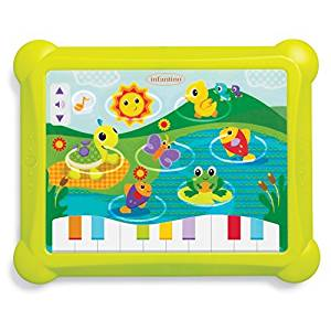 Infantino Topsy Turvy Lights and Sounds Musical Touch Pad by Infantino