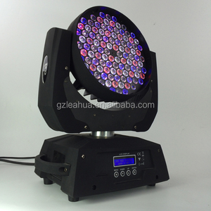 Competitive price moving head light rgbw 108 3w led moving head wash
