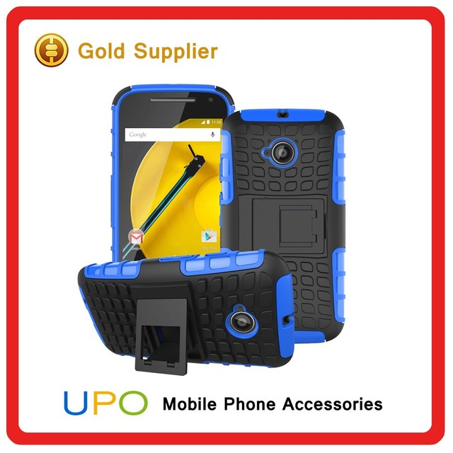 [UPO] New Arrival Hybrid Shockproof Combo Mobile Phone Case Cover for Motorola Moto E2 with Belt Clip