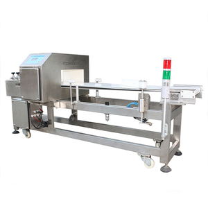 Plastic Industry Textile Metal Detector for Food Usage with Rejector