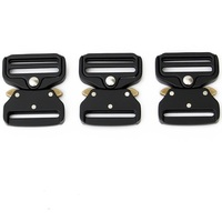 38mm Wide Strong Alloy Belts Buckle Sport Tactical Cobra Buckle